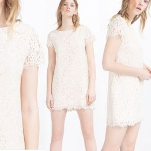 🚨NEW🚨 ZARA white lace dress
